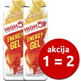 akcija energy gel banana